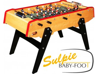 Baby foot Sulpie Outsider rouge