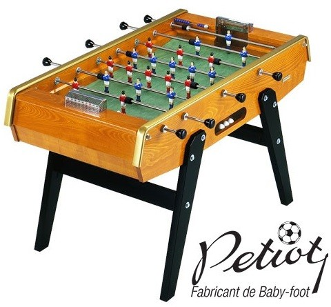 baby foot petiot concorde 145 luxe babyfoot vintage. Black Bedroom Furniture Sets. Home Design Ideas