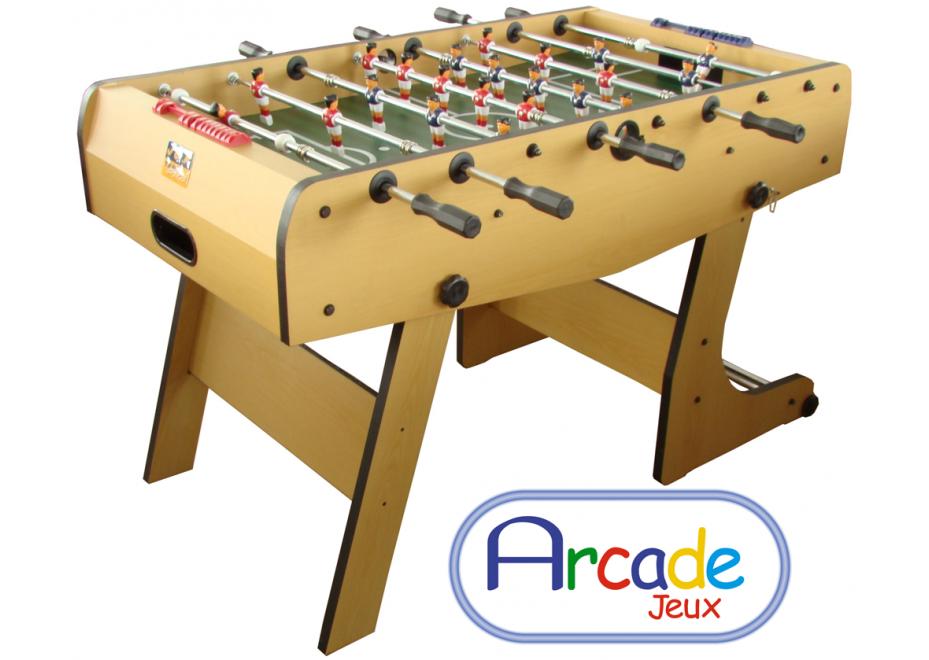 Baby foot enfant arcade Jeux Pliant à ranger facilement