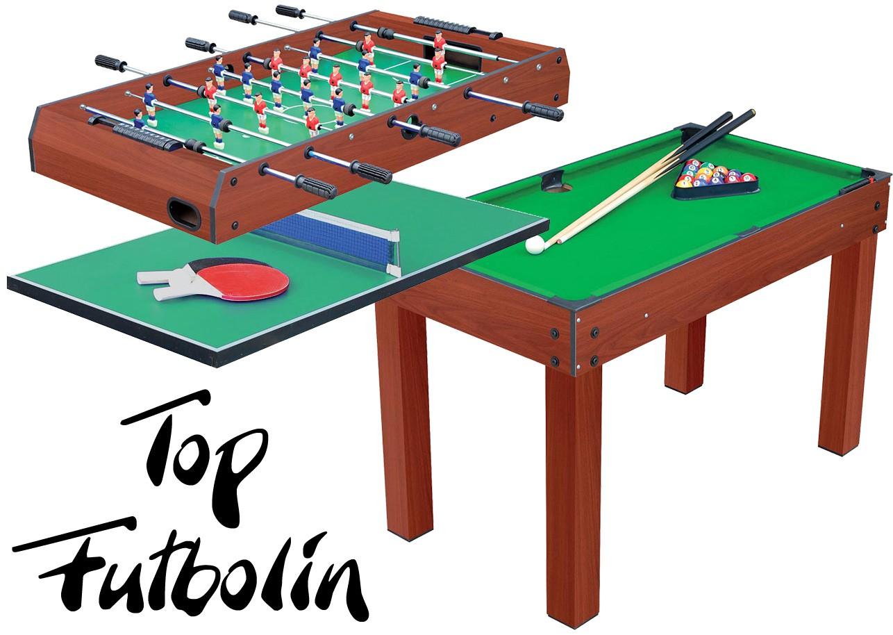 Baby foot multitable 3 en 1 top futbolin babyfoot vintage for Table 5 en 1