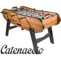 Baby foot de bar en bois foncé Catenaccio