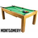Billard Convertible 6FT bois tapis vert Montgomery