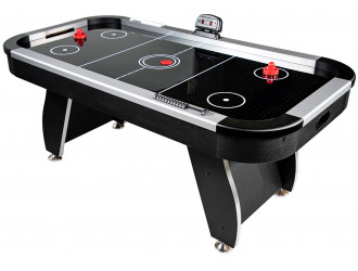 Table Air Hockey Noir 6FT