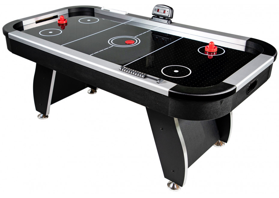 Table Air Hockey Noir