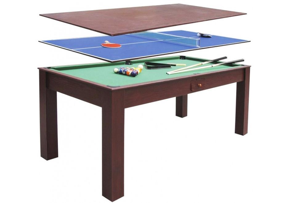 table multijeux convertible 3 en 1