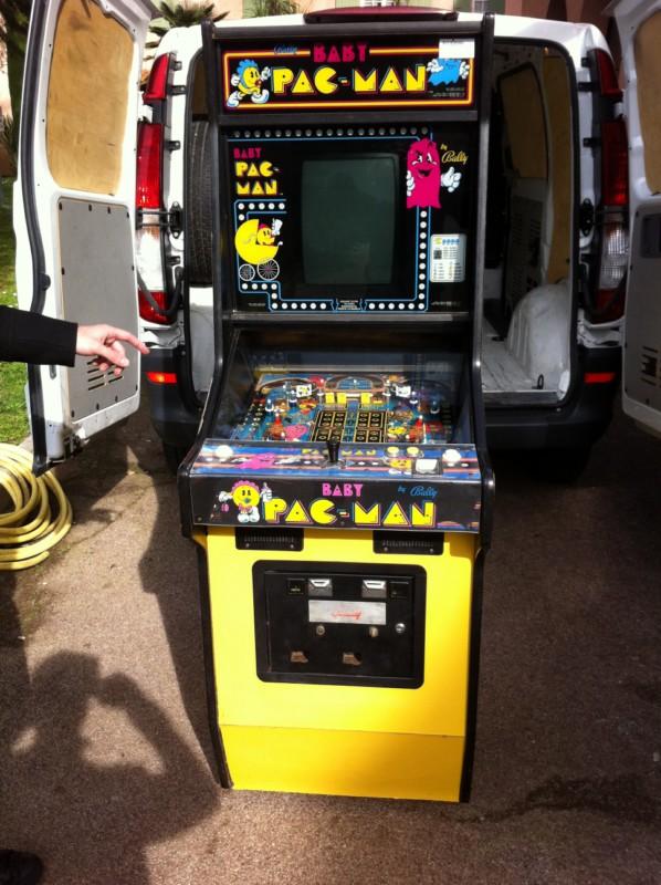 borne arcade cafe