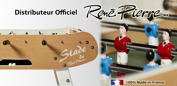 Babyfoot Vintage - distributeur officiel René Pierre
